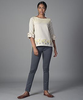 Embroidered Short Top